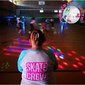 roller disco skating roller skates